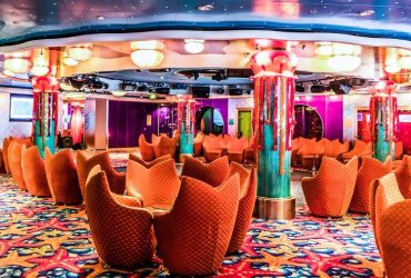 Reader Offers entertainment aan boord van een cruiseschip