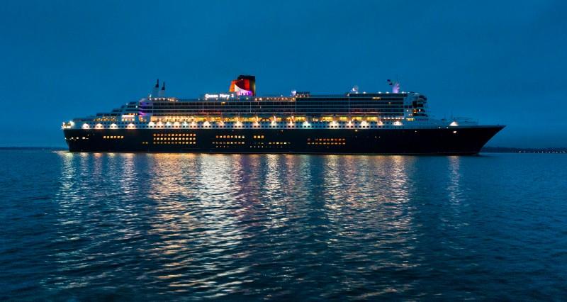 Cunard Queen Mary 2 exterior