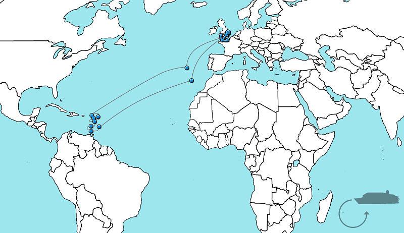 Cruise caribbean Oriana 2020