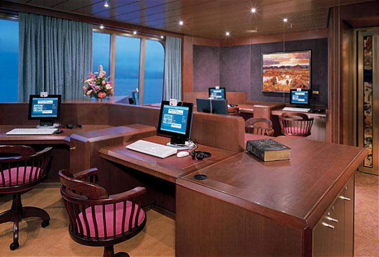 Internet op zee tijdens een cruise