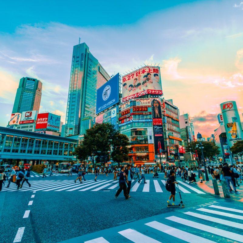 Een cruise naar Tokyo