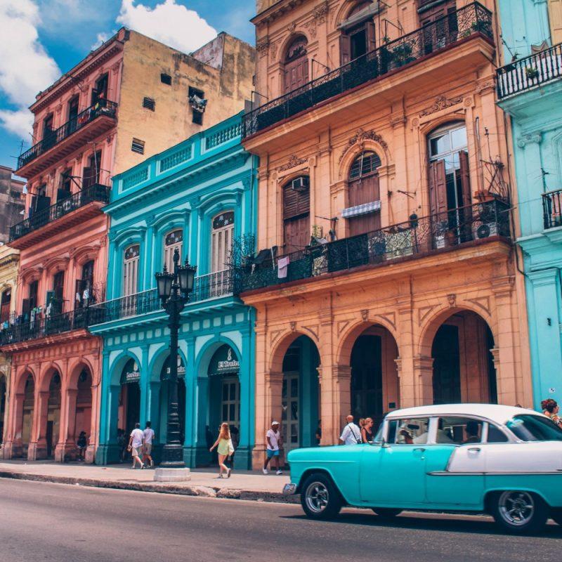 Klassieke autos in Havana Cuba