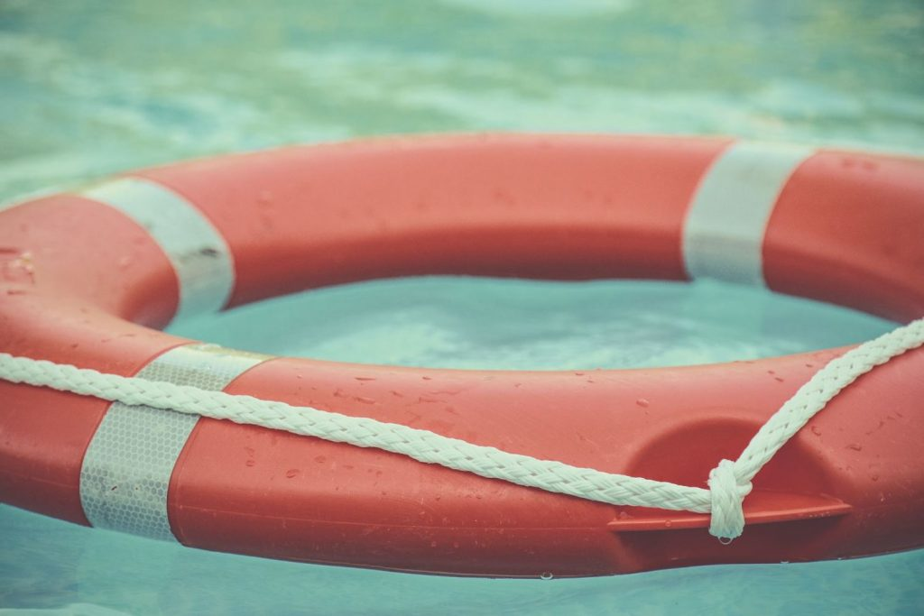 Veiligheidsoefeningen tijdens een cruise