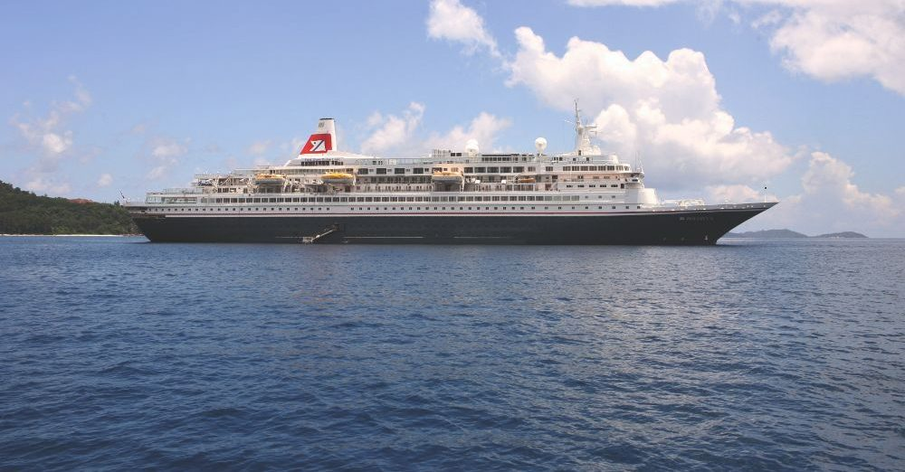 Cruisen aan boord van Boudicca