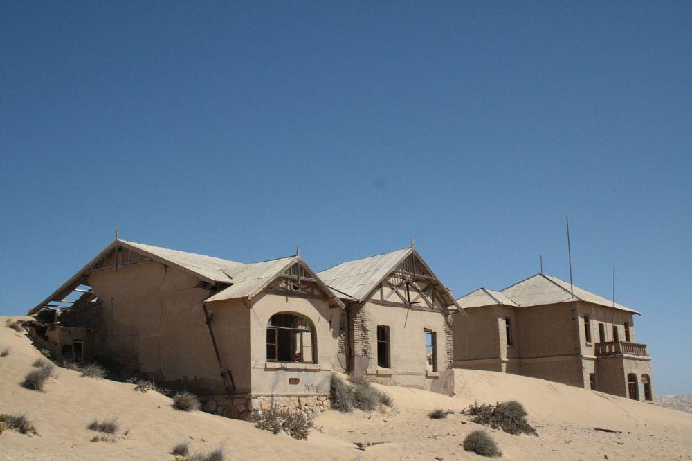 Bezoek aan Kolmanskop
