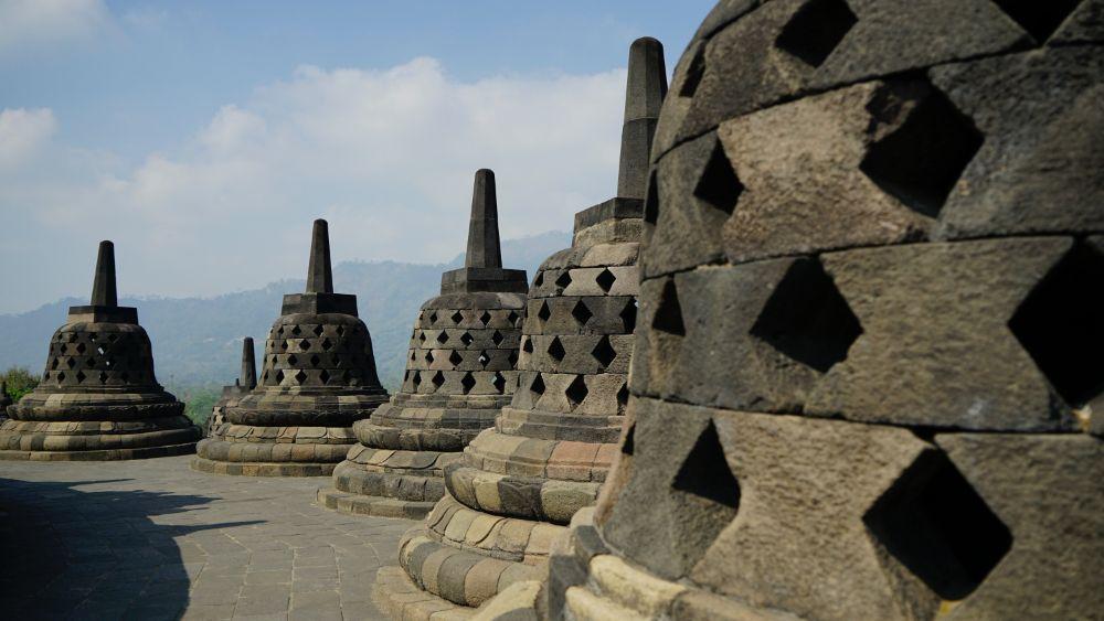 Ontdekkingen in Indonesië - Borobudur