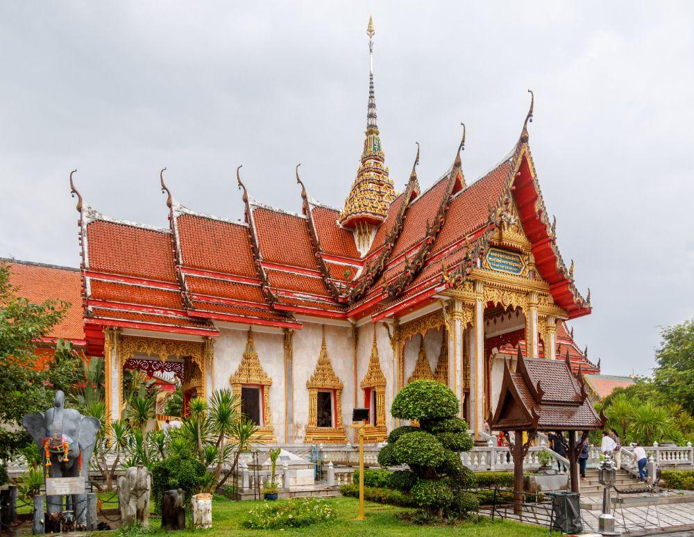 Phuket Thailand tempel Wat Chalong