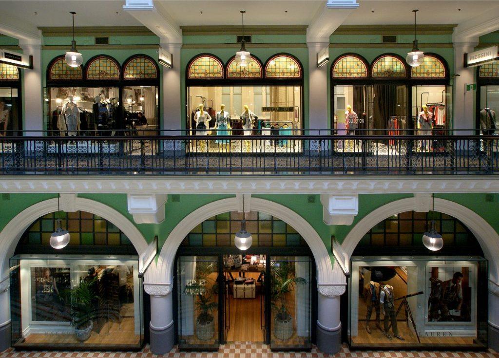 Architectuur-winkelcentrum-Sydney