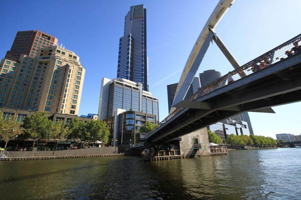 Melbourne-vanaf-de-rivier