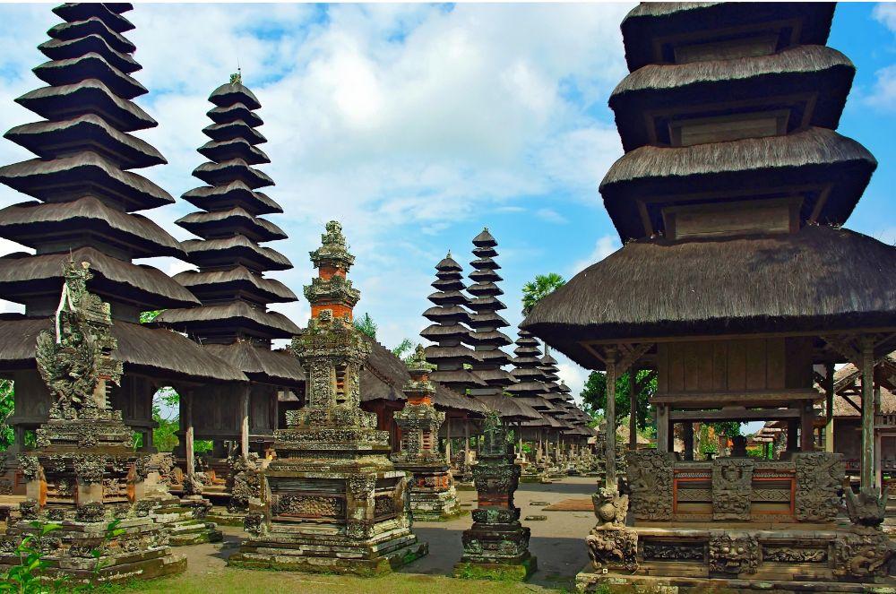 bezoek aan Bali tempel